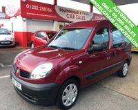 USED 2007 57 RENAULT KANGOO 1.6 AUTHENTIQUE AUTOMATIC WHEELCHAIR CONVERSION