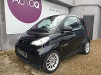 2007 SMART FORTWO 1.0 PASSION 2d 70 BHP £2995.00