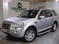 USED 2009 59 LAND ROVER FREELANDER 2 2.2 TD4 HSE 4X4 5dr Auto