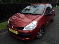 USED 2007 07 RENAULT CLIO 1.1 EXPRESSION 16V 3d 75 BHP