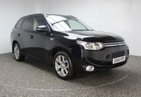 USED 2014 14 MITSUBISHI OUTLANDER 0.0 PHEV GX 3H 5DR AUTOMATIC 162 BHP FREE ROAD TAX FULL SERVICE HISTORY FULL SERVICE HISTORY + FREE 12 MONTHS ROAD TAX + HALF LEATHER SEATS + PARKING SENSOR + BLUETOOTH + CRUISE CONTROL + REAR PRIVACY GLASS + CLIMATE CONTROL + MULTI FUNCTION WHEEL + 18 INCH ALLOY WHEELS