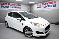 USED 2014 11 FORD FIESTA 1.0 ZETEC S 3d 124 BHP Bluetooth, Free road tax, Great MPG, Air con, privacy glass