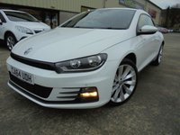 USED 2015 64 VOLKSWAGEN SCIROCCO 2.0 GT TDI BLUEMOTION TECHNOLOGY 2d 150 BHP Excellent Condition, One Owner, FSH, Low Rate Finance Available, No Deposit Necessary