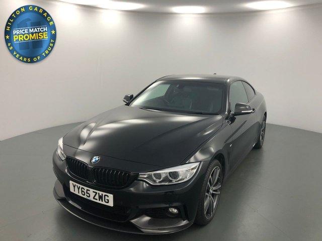 USED 2015 65 BMW 4 SERIES 2.0 420D XDRIVE M SPORT 2d AUTO 188 BHP
