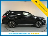 USED 2016 16 MITSUBISHI OUTLANDER 2.0 PHEV GX 3H 5d AUTO 161 BHP SERVICE HISTORY - ONW OWNER - HALF LEATHER - REAR SENSORS - BLUETOOTH - AIR CON - CRUISE CONTROL