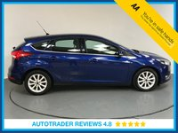 USED 2015 65 FORD FOCUS 1.5 TITANIUM TDCI 5d AUTO 118 BHP FULL FORD HISTORY - ONE OWNER - SAT NAV - REAR SENSORS - BLUETOOTH - AIR CON - USB - START / STOP
