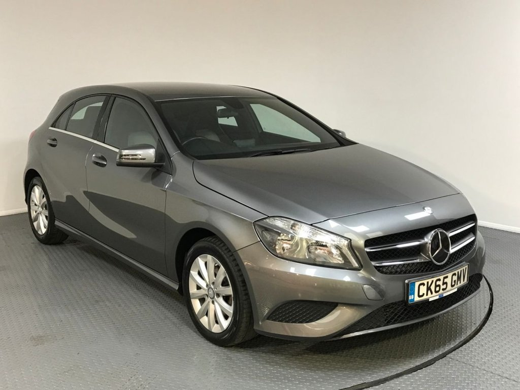 USED 2015 65 MERCEDES-BENZ A CLASS 1.5 A180 CDI BLUEEFFICIENCY SE 5d 109 BHP MERCEDES HISTORY - ONE OWNER - HALF LEATHER - BLUETOOTH - AIR CONDITIONING - STOP / START