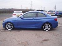 USED 2015 15 BMW 2 SERIES 2.0 218D M SPORT 2d 141 BHP