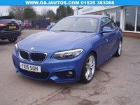 2015 BMW 2 SERIES 2.0 218D M SPORT 2d 141 BHP £13795.00