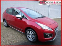 2014 PEUGEOT 3008 1.6 HDI ACTIVE 5dr 115 BHP **LOCAL OWNER VEHICLE** £SOLD