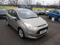 USED 2015 15 FORD B-MAX 1.0 ZETEC 5d 100 BHP ABSOLUTELY STUNNING LOW MILEAGE EXAMPLE !!