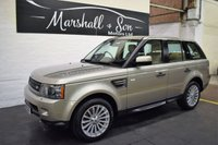 USED 2011 11 LAND ROVER RANGE ROVER SPORT 3.0 TDV6 SE 5d AUTO 245 BHP LOVELY CONDITION AND SPEC - NAV - LEATHER - ELECTRIC SUNROOF - HEATED SEATS - TOWBAR