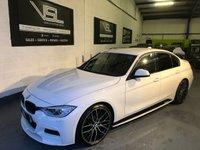2013 BMW 3 SERIES 2.0 320D M SPORT 4d 181 BHP