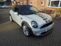 2013 MINI ROADSTER 1.6 COOPER S 2d 181 BHP £7995.00