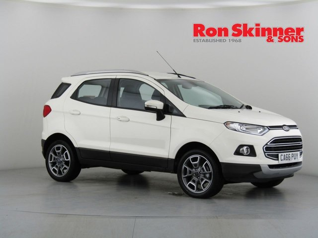 View our 2017 66 FORD ECOSPORT 1.5 TITANIUM TDCI 5d 94 BHP