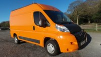 2007 CITROEN RELAY 2.2 33 L2H2 120 MWB HR 1d 120 BHP £2000.00