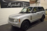 USED 2008 58 LAND ROVER RANGE ROVER 3.6 TDV8 VOGUE SE 5d AUTO 272 BHP VOGUE SE - FACTORY REAR DVDS - LEATHER - NAV - TV