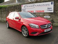 2013 MERCEDES-BENZ A CLASS 1.6 A180 BLUEEFFICIENCY SPORT 5d AUTO 122 BHP £12995.00