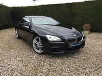 USED 2014 64 BMW 6 SERIES 3.0 640D M SPORT GRAN COUPE 4d AUTO 309 BHP