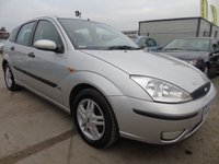 2002 FORD FOCUS 1.6 ZETEC FULL SERVICES 14 STAMPS £895.00