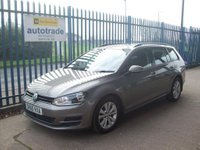 2015 VOLKSWAGEN GOLF 1.6 TDI BlueMotion Tech SE (s/s) 5dr £8000.00