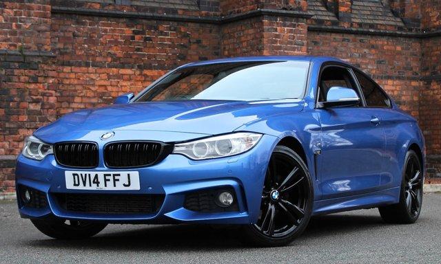 2014 14 BMW 4 SERIES 2.0 420D M SPORT 2d AUTO 184 BHP [PRO MEDIA]