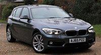 2016 BMW 1 SERIES 2.0 118D SPORT 5d AUTO 147 BHP £SOLD