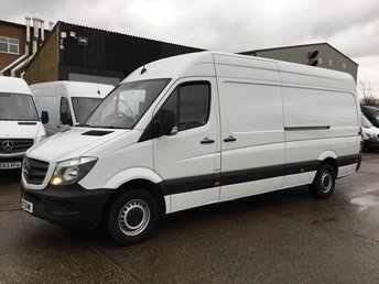 2017 MERCEDES-BENZ SPRINTER 2.1 314CDI LWB HIGH ROOF 140 BHP EURO 6 ADBLUE. MERC WARRANTY. £14495.00