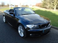 USED 2011 11 BMW 1 SERIES 2.0 120D M SPORT 2d 175 BHP HEATED LEATHER, BLUETOOTH, MSPORT