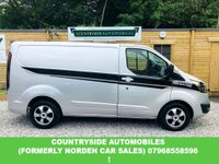 USED 2016 65 FORD TRANSIT CUSTOM 2.2 270 LIMITED LR P/V 1d 124 BHP Stunning looking van with heated leather seats cruise control, back is new and wood never even been stood on, looks sporty and stylish with black rear spoiler graphics and mirrors. Low miles and immaculate with cruise control and bluetooth.
