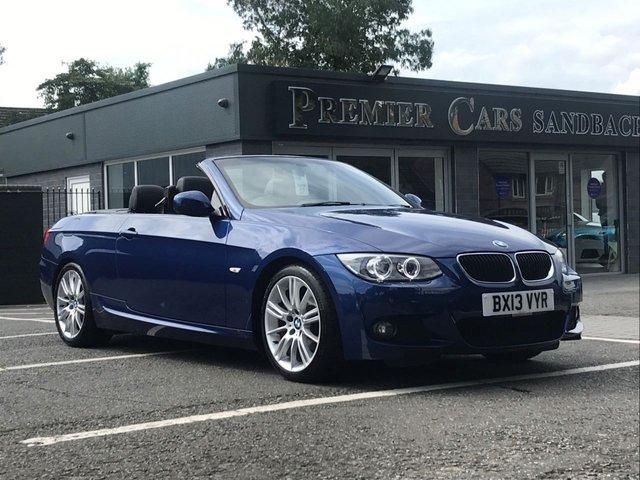 USED 2013 13 BMW 3 SERIES 2.0 320I M SPORT 2d 168 BHP