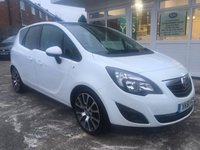 USED 2011 61 VAUXHALL MERIVA 1.4 EXCITE LIMITED EDITION 5d 99 BHP
