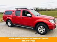 USED 2009 09 NISSAN NAVARA 2.5 DCi 169 4WD Aventura X Back ***REAR CANOPY FITTED-NO VAT***