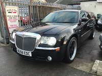 USED 2008 58 CHRYSLER 300C 3.0 SRT DESIGN 4d AUTO 215 BHP 300c, Diesel, automatic, 52000 miles, SRT, outstanding, sat/nav.