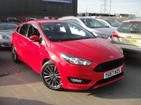 USED 2017 67 FORD FOCUS 1.0 ST-LINE 5d AUTO 124 BHP ANY PART EXCHANGE WELCOME, COUNTRY WIDE DELIVERY ARRANGED, HUGE SPEC