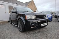 "USED 2011 61 LAND ROVER RANGE ROVER SPORT HSE 3.0 SDV6 Auto 5dr [ Overfinch Kit ] ( 255 bhp ) Stunning Example with Low Mileage + Super Spec Overfinch Kit 22"" Khan Alloy Wheels"