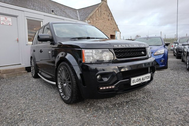 2011 61 LAND ROVER RANGE ROVER SPORT HSE 3.0 SDV6 Auto 5dr [ Overfinch Kit ] ( 255 bhp )