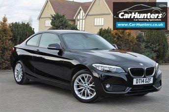 2014 BMW 2 SERIES 2.0 218D SE 2d 141 BHP £13795.00