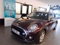 USED 2015 65 MINI CLUBMAN 2.0 COOPER D 5d 148 BHP One lady owner, Mini service history, October 2019 Mot. Finished in Metallic Pure Burgundy with Gold Roof and Mirror Caps.