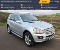 USED 2007 57 MERCEDES-BENZ M CLASS 3.0 ML280 CDI EDITION S 5d 188 BHP
