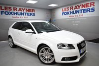 USED 2012 12 AUDI A3 1.4 TFSI S LINE 3d 123 BHP Low Miles, Great MPG, Half Leather, 18in alloys