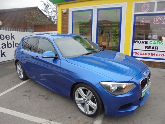 USED 2012 12 BMW 1 SERIES 2.0 118D M SPORT 5d AUTO 141 BHP ***JUST ARRIVED...TEST DRIVE TODAY***NO DEPOSIT DEALS