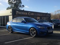 USED 2016 66 BMW 2 SERIES 218d M Sport Coupe Auto