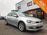 USED 2013 63 VOLKSWAGEN GOLF 2.0 GT TDI BLUEMOTION TECHNOLOGY 5d 148 BHP AUTOMATIC LIGHTS | DAB | SAT NAV | BLUETOOTH | START/STOP | PARKING SENSORS FRONT AND REAR | ELECTRIC FOLDING MIRRORS | ELECTRIC WINDOWS