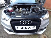 USED 2014 64 AUDI A1 1.2 TFSI S LINE STYLE EDITION 3d 85 BHP HATCHBACK