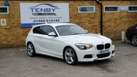 2013 BMW 1 SERIES 2.0 120D M SPORT 3d AUTO 181 BHP £10484.00