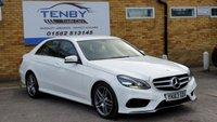 2013 MERCEDES-BENZ E CLASS 2.1 E250 CDI AMG SPORT 4d AUTO 202 BHP £14484.00