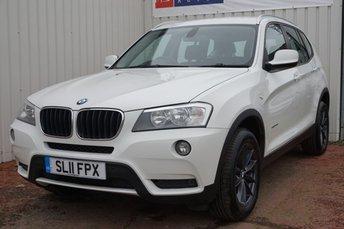 2011 BMW X3 2.0 XDRIVE20D SE 5d AUTO 181 BHP £10995.00