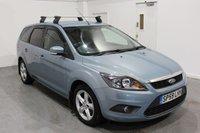 2009 FORD FOCUS 1.6 ZETEC ESTATE AUTO 5d 100 BHP £4995.00