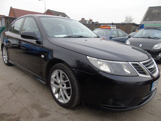 USED 2009 58 SAAB 9-3 1.9 VECTOR SPORT TID 180 BHP NEW MOT NEW CLUTCH